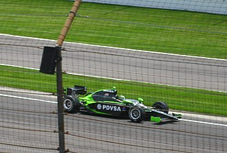 HVM Racing - HVM's 2008 IndyCar Series entry driven by E. J. Viso