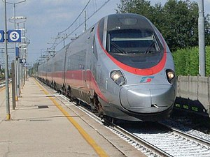 Frecciargento - Frecciargento ETR.600 train