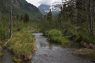 Eagle Peak (Alaska) - The Eagle River