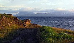 Early evening to Skye, from Milltown nr. Applecross village. - panoramio.jpg