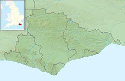 Brighton est situé dans l'East Sussex