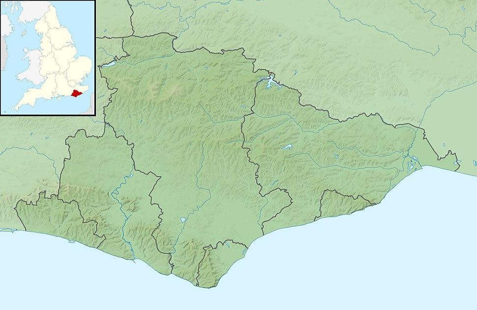 Bateman's is located in East Sussex
