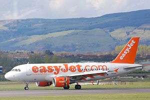 English: Easyjet Aircraft