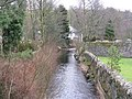 Eddleston Water, running through the village - geograph.org.uk - 1185522.jpg