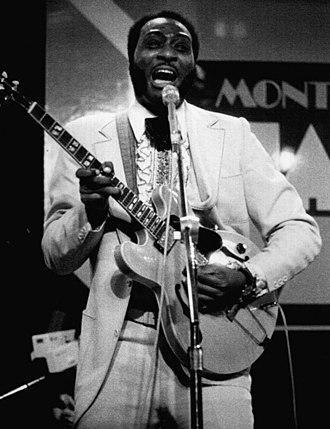 Eddy Clearwater - Clearwater in 1978