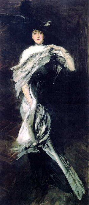 Edith Stuyvesant Gerry - Painting of Edith by Giovanni Boldini, 1900