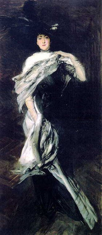 Peter G. Gerry - Portrait of Gerry's second wife, Edith Stuyvesant Dresser, painted by Giovanni Boldini, 1900