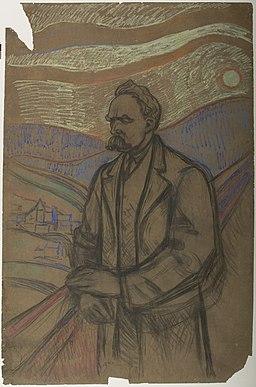 Edvard Munch - Frederich Nietzsche - 689