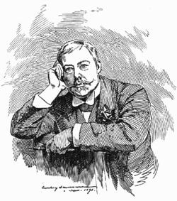 Edward linley sambourne, self portrait 1891