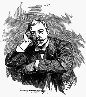 Edward Linley Sambourne, self portrait 1891.png