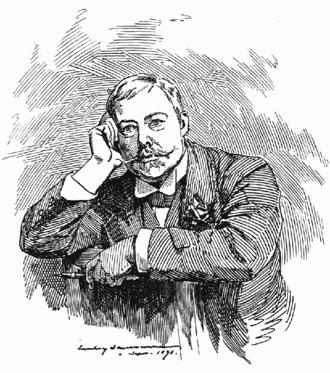 Edward Linley Sambourne - 1891 self-portrait