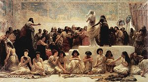 Edwin Long - The Babylonian Marriage Market