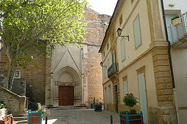 The church of Laudun-l'Ardoise
