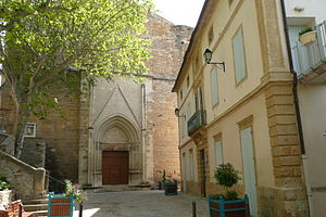 Laudun-l'Ardoise - The church of Laudun-l'Ardoise
