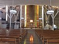 Eglise Saint Esprit interior, Meudon la Foret.jpg