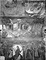 Eglise abbatiale Saint-Savin-et-Saint-Cyprien - Peinture murale de la crypte (vie des saints Savin et Cyprien) - Versant sud - Le Supplice des morsur... - Saint-Savin - Médiathèque de l'architecture et du patrimoine - APMH00022890.jpg