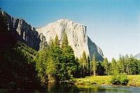 El Capitan and the Merced River