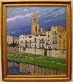 El riu Onyar al seu pas per Girona, Santiago Rusiñol i Prats, Museu de Belles Arts de València.JPG