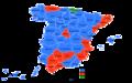 Elecciones generales españolas de 1979 - distribución del voto.png
