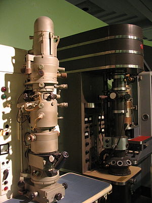 Beckman Institute for Advanced Science and Technology - Image: Electron microscopes