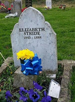 Elizabeth Stride - Elizabeth Stride's grave, December 2014
