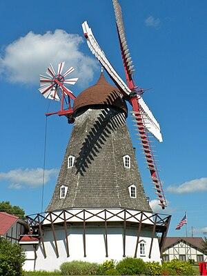 Elk Horn, Iowa - Image: Elk Horn Iowa Windmill