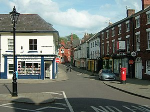 Ellesmere, Shropshire - Image: Ellesmere Town Centre geograph.org.uk 6709