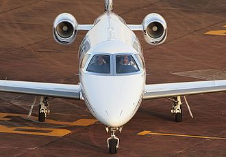 Embraer Phenom 100 - on ramp, front