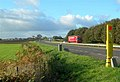 Emergency Phone On the By-Pass - geograph.org.uk - 588245.jpg