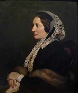Emilie Auguste geb. von Mülmann Gemälde vom Gatten Carl Ferdinand Sohn (1867)