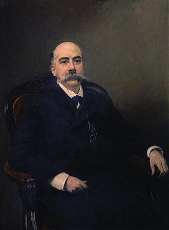 Emilio Castelar - Castelar, by Joaquín Sorolla.