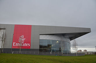 Commonwealth Arena and Sir Chris Hoy Velodrome - Image: Emirates Arena 05