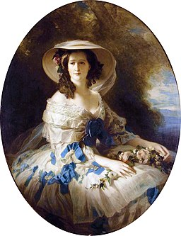 Empress Eugénie, by Studio of Franz-Xaver Winterhalter