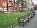 Empty seats within Mount Street Gardens - geograph.org.uk - 1089897.jpg