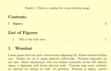 LaTeX/Tables of Contents and Lists of Figures - Wikibooks, open
