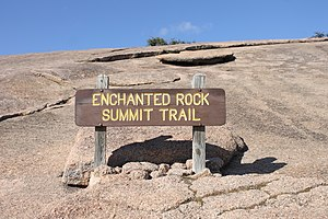 Fredericksburg, Texas - Enchanted Rock Summit Trail