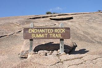 Fredericksburg, Texas - Enchanted Rock Summit Trail