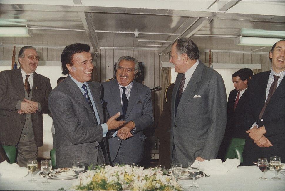 Encuentro de los presidentes de Chile y Argentina