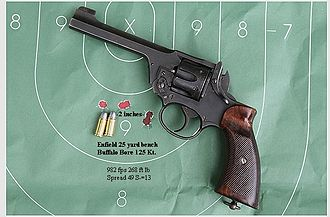 Enfield No. 2 - an Enfield No. 2 Mk1 in fine condition. from bench rest at 25 yards.