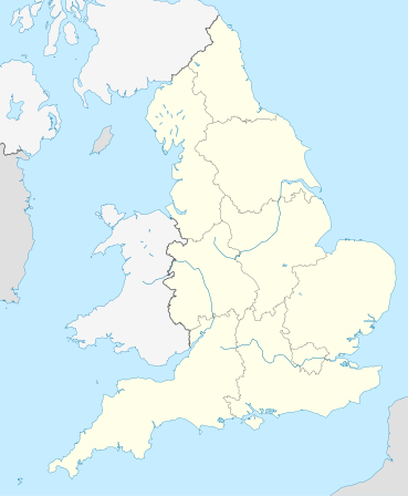 1914–15 Football League is located in England