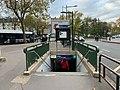 Entrée Station Métro Boulogne Pont St Cloud Boulogne Billancourt 4.jpg