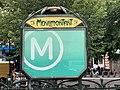 Entrée Station Métro Ménilmontant Paris 3.jpg