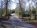 Entrance drive to Winchfield Lodge - geograph.org.uk - 1748676.jpg