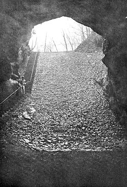 Entrance to Mammoth Cave - A Thousand Mile Walk to the Gulf.jpg
