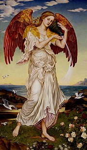 Eos, deur Evelyn De Morgan (1895)