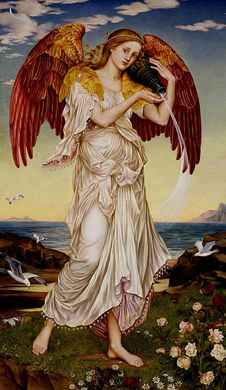 Eos - Eos by Evelyn De Morgan (1895)