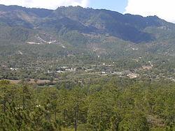 Panoramic view of Erandique