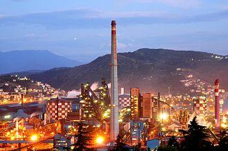 Zonguldak Province - Erdemir steel plant in Ereğli