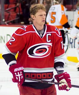 Eric Staal Canadian ice hockey player