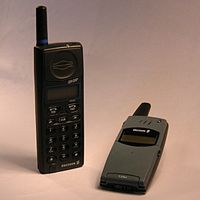 An Ericsson GH337 1995 And T28 1999 Mobile Phones